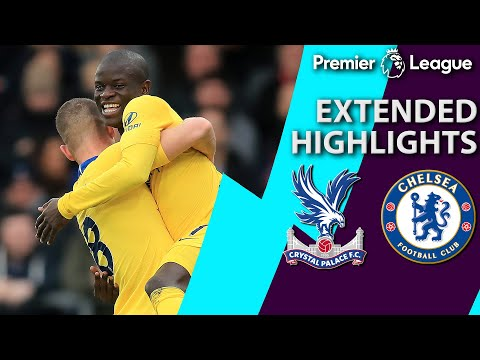 Crystal Palace v. Chelsea | PREMIER LEAGUE EXTENDED HIGHLIGHTS | 12/30/18 | NBC Sports