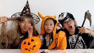 Miếng Dán Hình - Scary Halloween ❤Susi kids TV❤