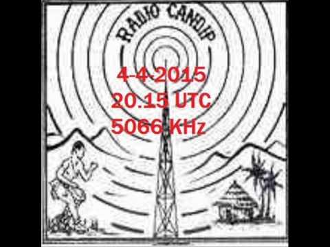 RADIO CANDIP BUNIA DR OF CONGO 5066 KHz