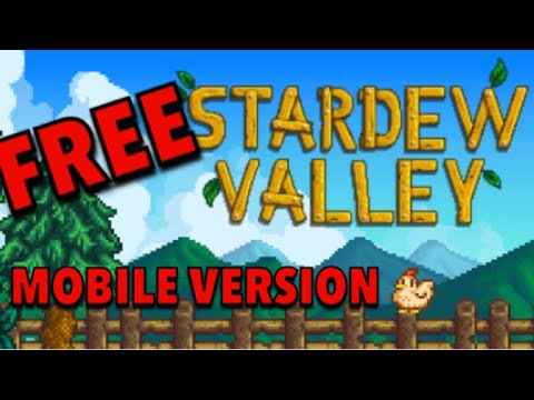 HOW TO GET STARDEW VALLEY FOR FREE ON MOBILE VERSION