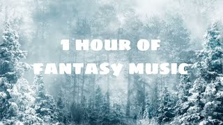 1 hour of Ambient Fantasy Music | Tranquil Atmospheric Ambience | Enchanted Forest