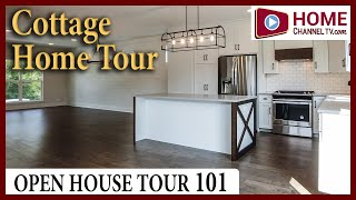 Open House Tour 101 - Craftsman Style Cottage Home at Stafford Place in Warrenville