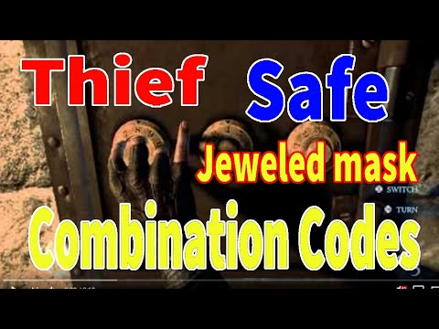 Thief-Steal The Jeweled mask safe Combination code
