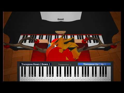Roblox Piano Mariah Carey All I Want For Christmas Is You Notes