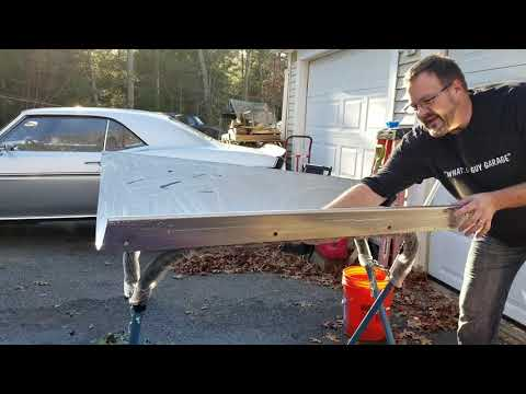 Quick Polish & Compound Of Fisher Stainless Plow Blade