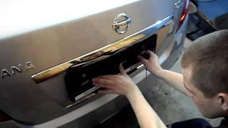 видео Как выбрать номерные рамки для авто