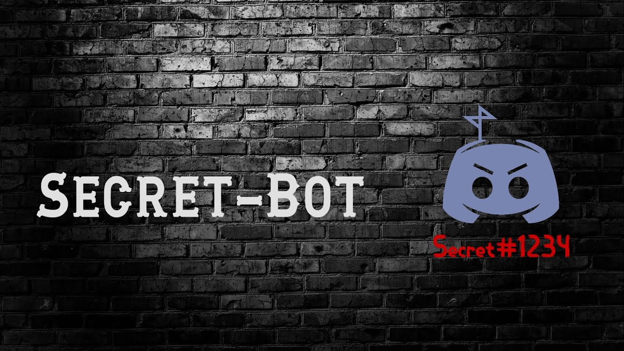 Discord Create Roles + Channels Bot {Secret-Bot} 2019