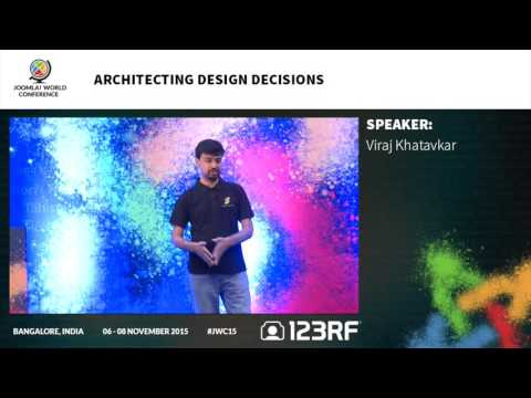 JWC15 - Architecting Design Decisions