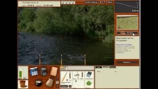 Русская Рыбалка 4 (Russian Fishing) Ловим на 3 удочки