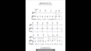Big Girls Don't Cry - Matthew Scarborough ((C) The Four Seasons)