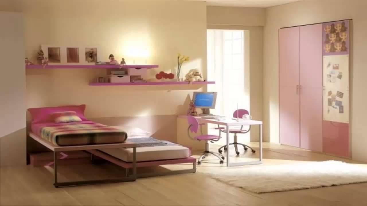 غرف نوم للبنات لونها وردي       YouTube