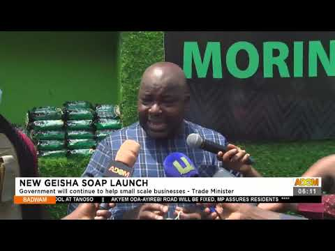 Government will continue to help small scale businesses - Trade Minister- Adom TV (15-7-21)