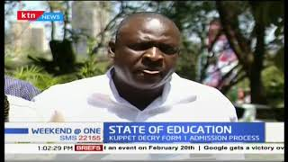 KUPPET  has expressed its disappointment on the form one admission due to lack of resources