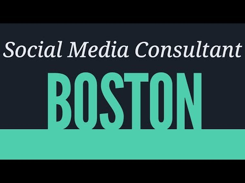 Social Media Consultant Boston