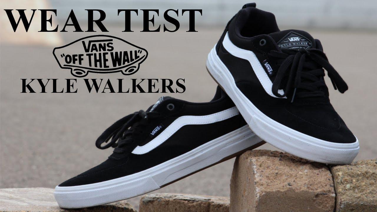 Zapatillas Vans Kyle Walker Pro Originales Black White Caber ...