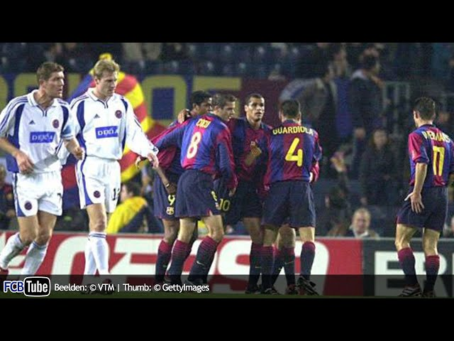 2000-2001 - UEFA-Cup - 08. 8ste Finale - FC Barcelona - Club Brugge 1-1