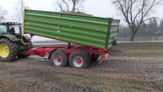 MAR-POL JACEK URBAŃSKI Przyczepa rolnicza Tandem MT1400
