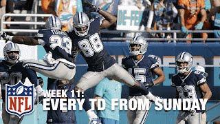 Watch Every Touchdown from Sunday (Week 11) | NFL RedZone