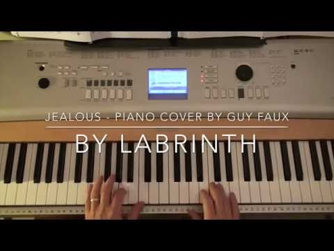 Jealous By Labrinth - Piano Cover - (Instrumental) - By Guy Faux