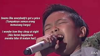 Lirik Terjemahan | DEVEN - PRICE TAG (Jessie J ft BoB) - TOP 7 - INDONESIAN IDOL JUNIOR 2018