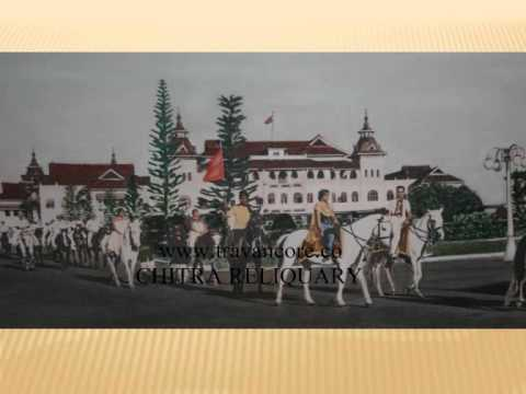Image result for travancore maharaja coming out of palace in horse carriage