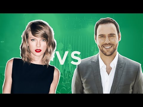 Taylor Swift vs Scooter Braun | Does Taylor Have a Point? | How Record Deals Work Mp3