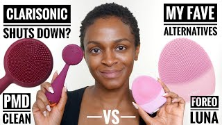 Foreo Luna vs PMD Clean: Best Clarisonic Alternatives
