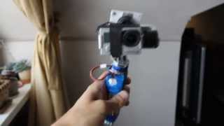 Repeat youtube video DIY hand-held gimbal for GoPro