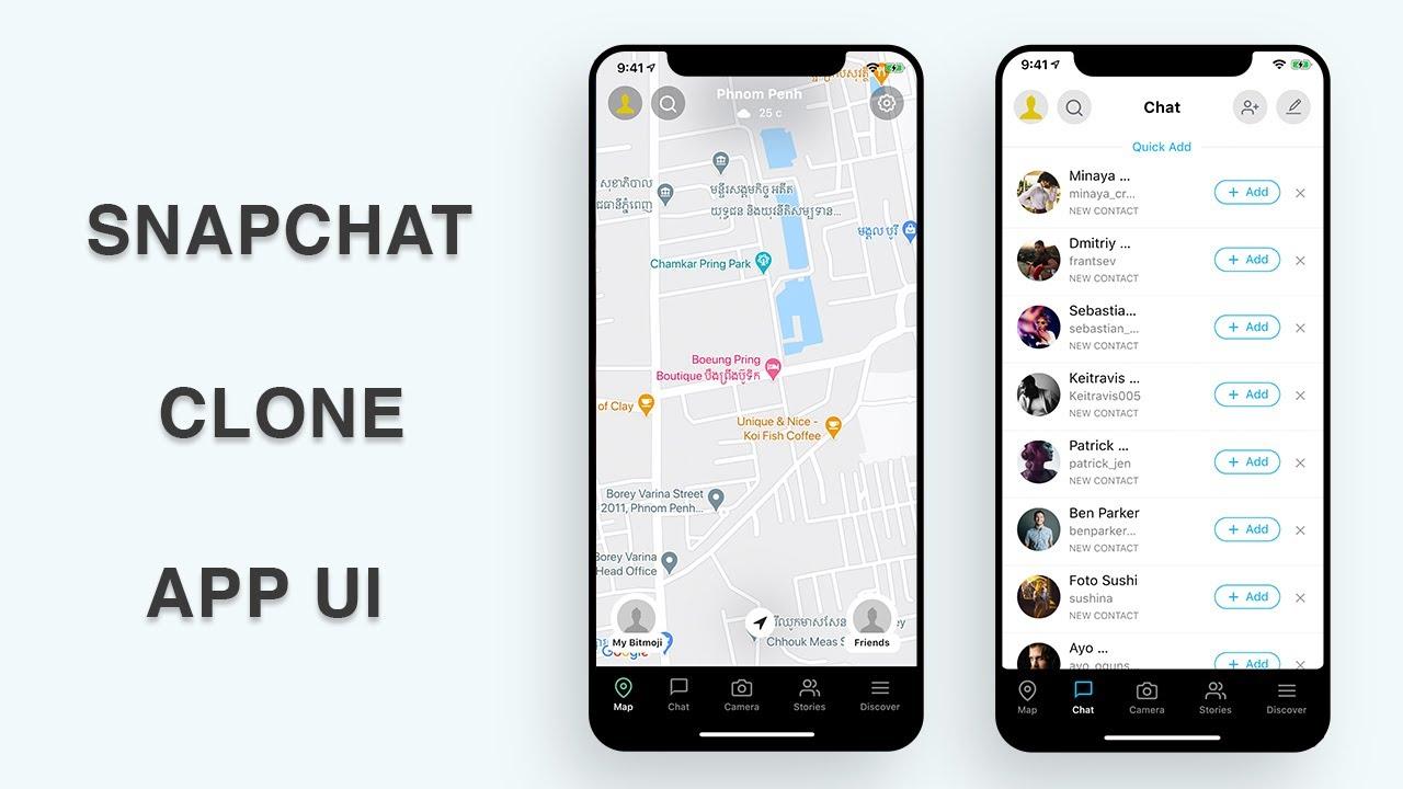 Flutter UI - Snapchat Clone - Part IV - Speed Code
