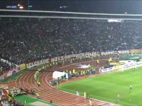 Crvena zvezda - Partizan 1:2, 137. derbi, atmosfera