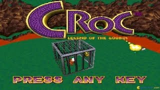 Croc: Legend of the Gobbos gameplay (PC Game, 1997)