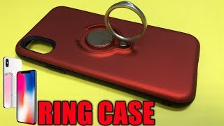 iPhone X Hard Back Ring Case Review UK