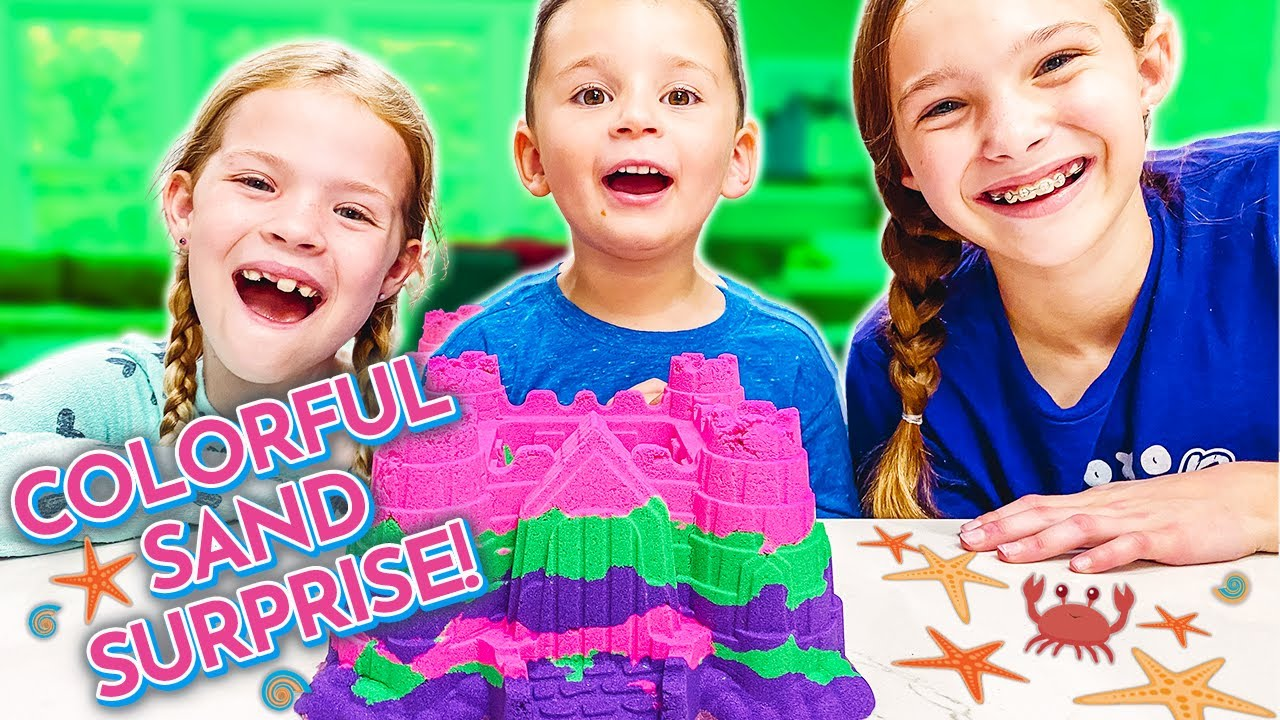 Download I HOPE WE DON'T GET CAUGHT Boo'ing Neighbors for Halloween w/ Kinetic Sand !!!