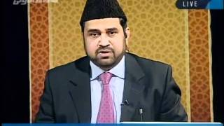 Man falsely claims to be the son of Hadhrat Mirza Nasir Ahmad (ra)-persented by khalid Qadiani.flv