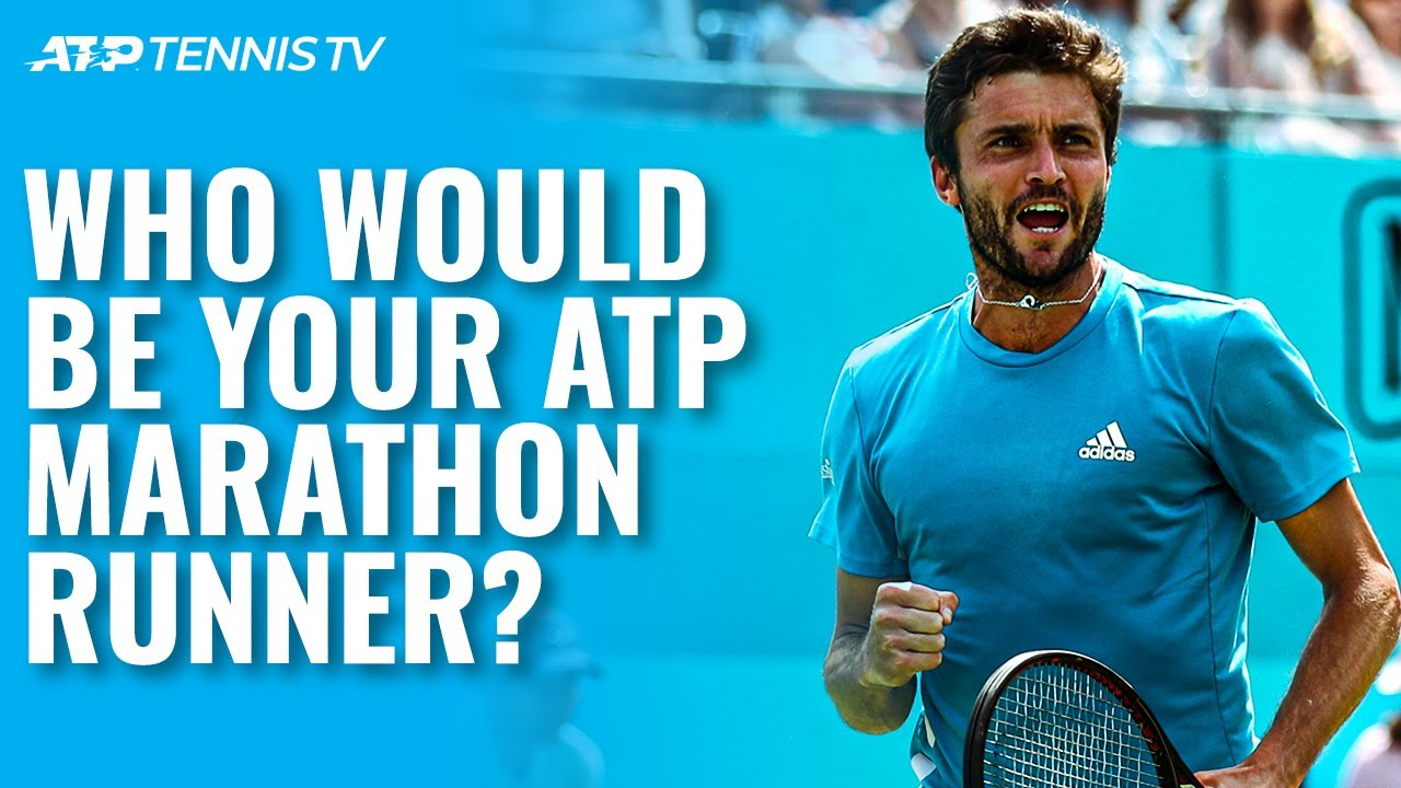 Who Would Be Your ATP Tennis Marathon Runner? 🔋   ATP Tennis Meets The Olympics 🥇
