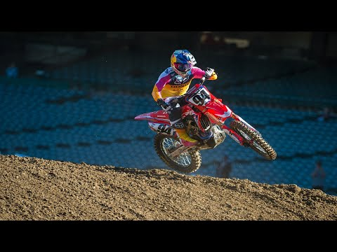 2019 Anaheim One SX Press Day Video