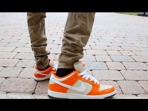 cheaper a91d4 c4218 Nike Sb Dunk Orange Box! Unboxing+Review+On Feet. Nike Sb Dunk Low ...