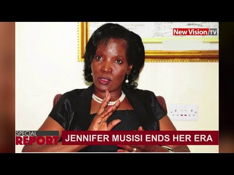 Jennifer Musisi's era ends