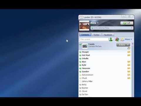 goober Messenger 3.0 - Premium VoIP (deutsch)