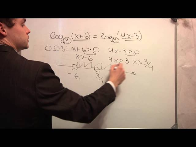 ЕГЭ математика. В5 .Логарифм. Видео урок. Ч3