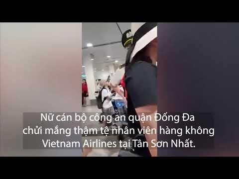 Nữ hành khách gây náo loạn sấn bay Tân Sơn Nhất