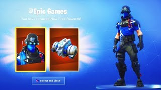 "The *NEW* FREE ITEMS in Fortnite! How To Get ""Carbon Commando"" CELEBRATION PACK REWARDS!"