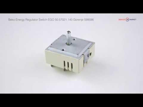 Переключатель мощности конфорок для электроплиты EGO 50.57021.140 Gorenje 599596