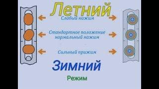 видео Переводим фурнитуру из летнего в зимний режим