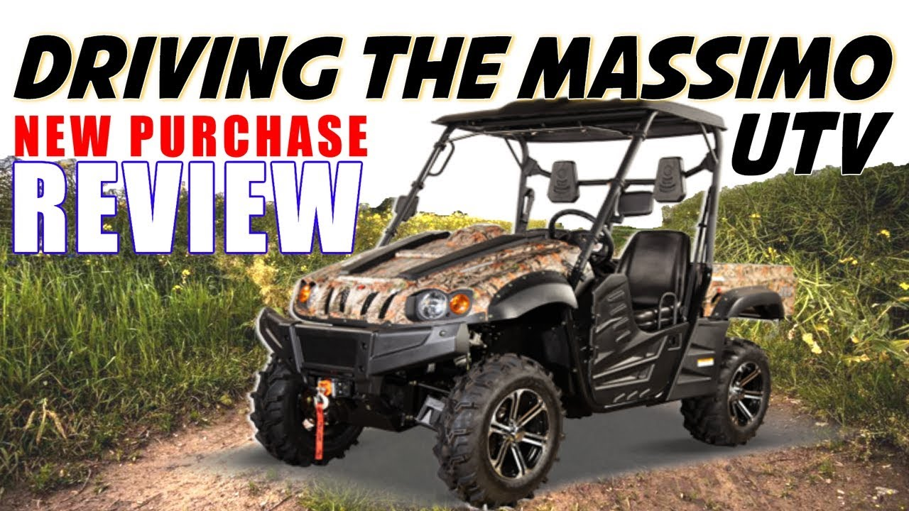 Driving a UTV Vehicle: MASSIMO MSU 500