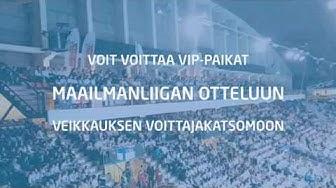 HPK-TV: Voita liput Veikkauksen Maailmanliigan Voittajakatsomoon!