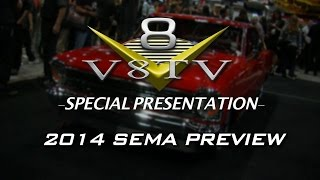 V8TV 2014 SEMA Show Video Coverage Preview Video