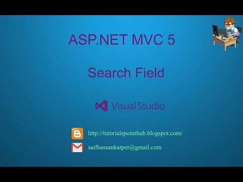 ASP.Net MVC5 - Search Field   SQL-Server   Visual Studio 2013