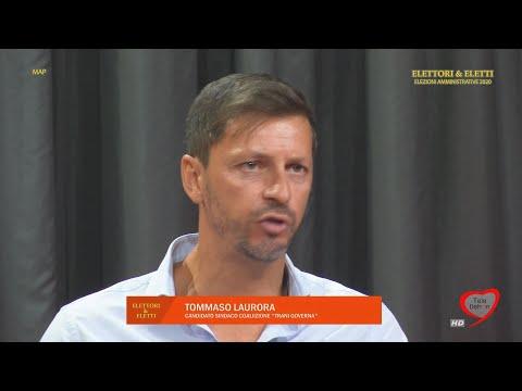 """Elettori & Eletti 2020: Tommaso Laurora, candidato sindaco coalizione """"Trani Governa"""""""
