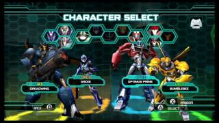 Transformers Prime The Game Wii U Multiplayer Brawl part 2